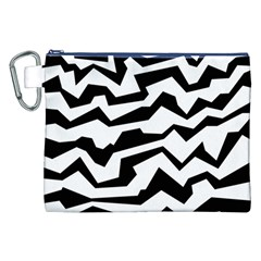 Polynoise Bw Canvas Cosmetic Bag (xxl)