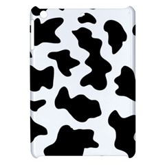 Animal Print Black And White Black Apple Ipad Mini Hardshell Case