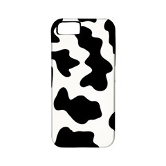 Animal Print Black And White Black Apple Iphone 5 Classic Hardshell Case (pc+silicone)