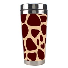 Animal Print Girraf Patterns Stainless Steel Travel Tumblers