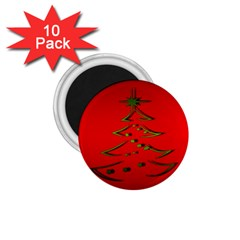 Christmas 1 75  Magnets (10 Pack)