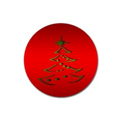 Christmas Magnet 3  (round)