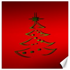 Christmas Canvas 20  X 20