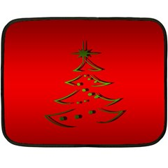 Christmas Double Sided Fleece Blanket (mini)