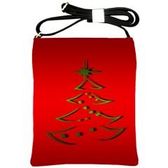 Christmas Shoulder Sling Bags