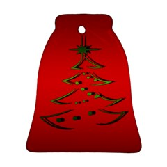 Christmas Bell Ornament (two Sides)