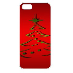 Christmas Apple Iphone 5 Seamless Case (white)