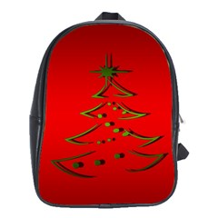 Christmas School Bag (xl)