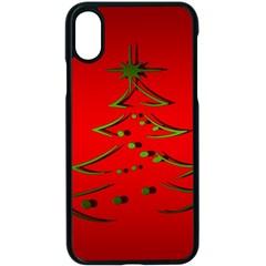 Christmas Apple Iphone X Seamless Case (black)