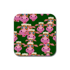 Seamless Tile Repeat Pattern Rubber Coaster (square)