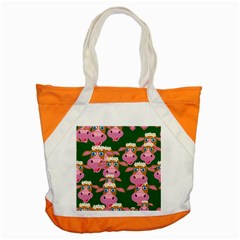 Seamless Tile Repeat Pattern Accent Tote Bag