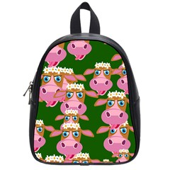 Seamless Tile Repeat Pattern School Bag (small)
