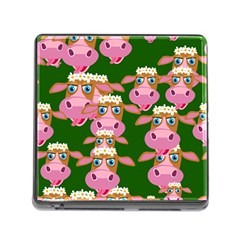 Seamless Tile Repeat Pattern Memory Card Reader (square)