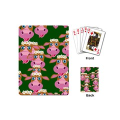 Seamless Tile Repeat Pattern Playing Cards (mini)