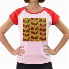 Animal Nature Wild Wildlife Women s Cap Sleeve T Shirt