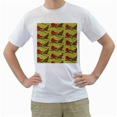 Animal Nature Wild Wildlife Men s T Shirt (white)