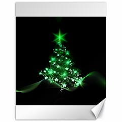 Christmas Tree Background Canvas 18  X 24
