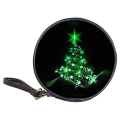 Christmas Tree Background Classic 20 Cd Wallets