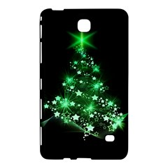 Christmas Tree Background Samsung Galaxy Tab 4 (7 ) Hardshell Case