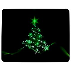 Christmas Tree Background Jigsaw Puzzle Photo Stand (rectangular)