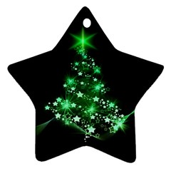 Christmas Tree Background Ornament (star)