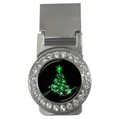 Christmas Tree Background Money Clips (cz)