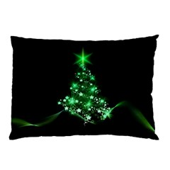 Christmas Tree Background Pillow Case