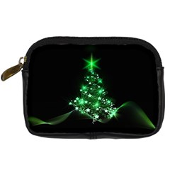 Christmas Tree Background Digital Camera Cases