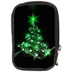 Christmas Tree Background Compact Camera Cases