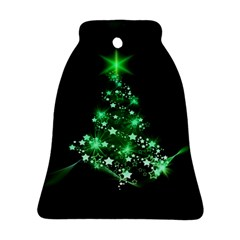 Christmas Tree Background Ornament (bell)
