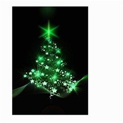 Christmas Tree Background Large Garden Flag (two Sides)