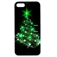 Christmas Tree Background Apple Iphone 5 Hardshell Case With Stand