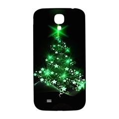 Christmas Tree Background Samsung Galaxy S4 I9500/i9505  Hardshell Back Case