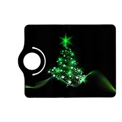 Christmas Tree Background Kindle Fire Hd (2013) Flip 360 Case