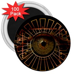 Eye Technology 3  Magnets (100 Pack)