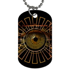 Eye Technology Dog Tag (two Sides)