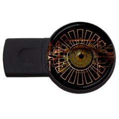 Eye Technology Usb Flash Drive Round (2 Gb)