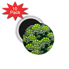 Seamless Tile Background Abstract 1 75  Magnets (10 Pack)