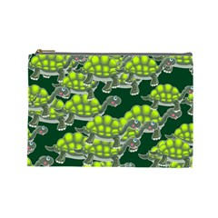 Seamless Tile Background Abstract Cosmetic Bag (large)