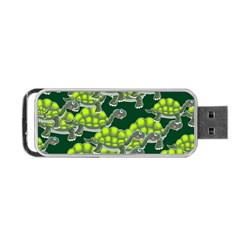 Seamless Tile Background Abstract Portable Usb Flash (two Sides)