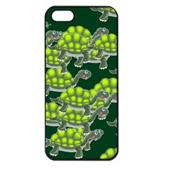 Seamless Tile Background Abstract Apple Iphone 5 Seamless Case (black)