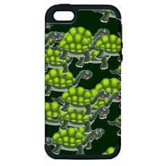 Seamless Tile Background Abstract Apple Iphone 5 Hardshell Case (pc+silicone)