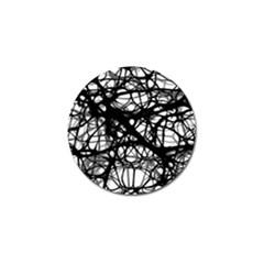 Neurons Brain Cells Brain Structure Golf Ball Marker (10 Pack)