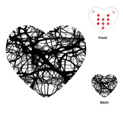 Neurons Brain Cells Brain Structure Playing Cards (heart)