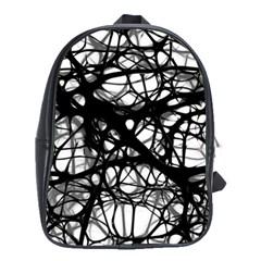 Neurons Brain Cells Brain Structure School Bag (large)