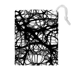 Neurons Brain Cells Brain Structure Drawstring Pouches (extra Large)