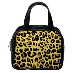 Animal Fur Skin Pattern Form Classic Handbags (one Side)