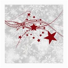 Christmas Star Snowflake Medium Glasses Cloth