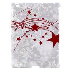 Christmas Star Snowflake Apple Ipad 3/4 Hardshell Case (compatible With Smart Cover)