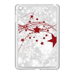 Christmas Star Snowflake Apple Ipad Mini Case (white)